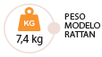 Peso Modelo Washington Rattan